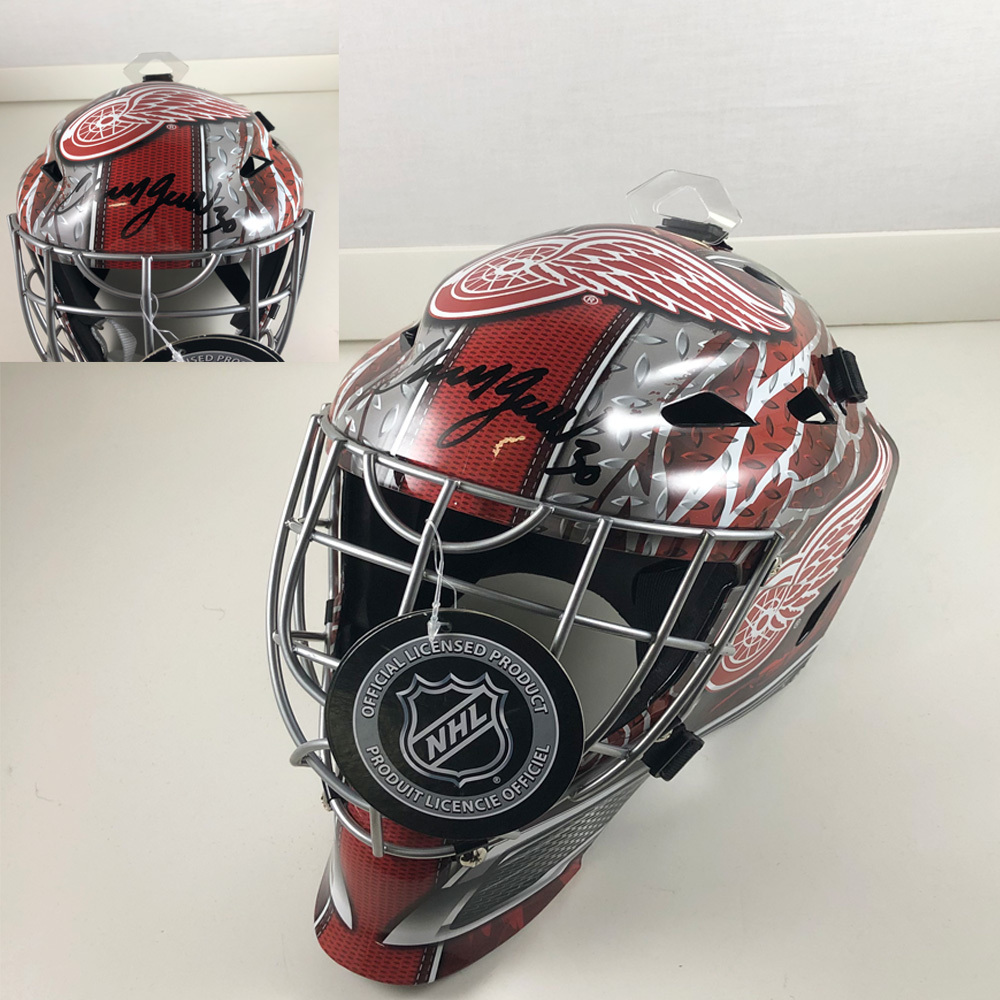 CHRIS OSGOOD Signed Detroit Red Wings Full Size Goalie Mask