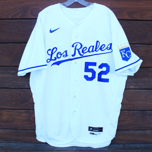 Game-Used Los Reales Jersey: Daniel Lynch #52 (SEA@KC 9/17/21) - Size 48