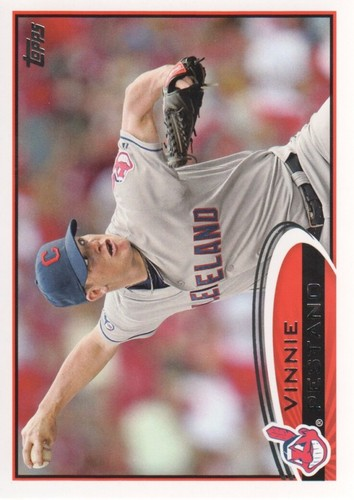 Photo of 2012 Topps #469 Vinnie Pestano