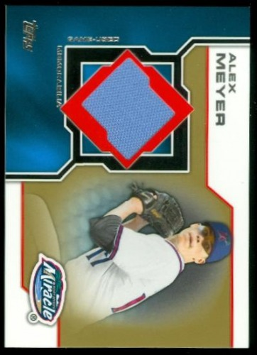 Photo of 2013 Topps Pro Debut Minor League Materials Gold #AME Alex Meyer