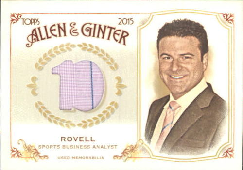 Photo of 2015 Topps Allen and Ginter Relics #FSRBDR Darren Rovell B