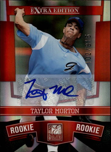 Photo of 2010 Donruss Elite Extra Edition #172 Taylor Morton AU/815