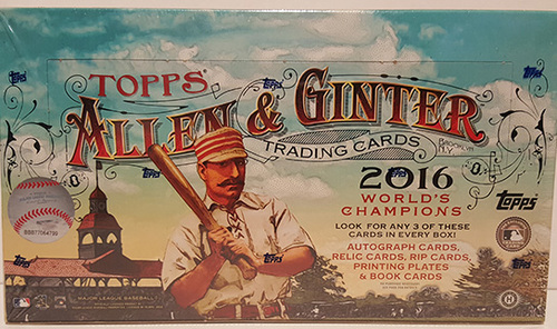 Photo of 2016 Topps Allen & Ginter Baseball Hobby Box