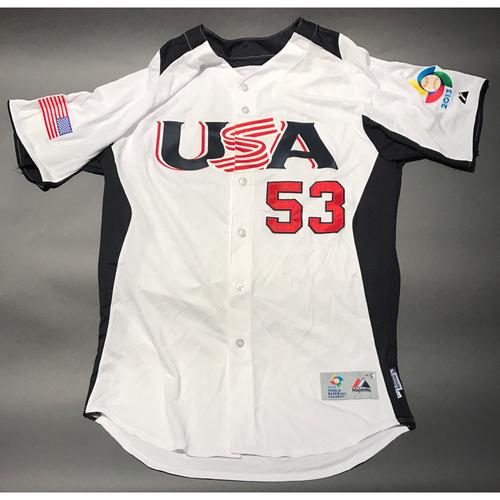 2013 World Baseball Classic Jersey - USA Jersey, Marcel Lachemann #53