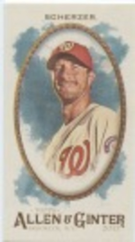 Photo of 2017 Topps Allen and Ginter Mini #75 Max Scherzer