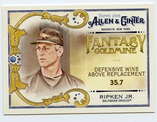Photo of 2018 Topps Allen and Ginter Fantasy Goldmine #FG2 Cal Ripken Jr.