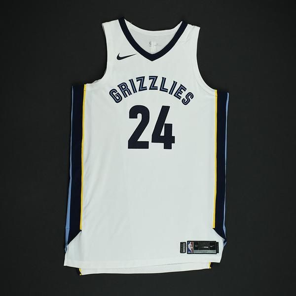 Dillon Brooks - Memphis Grizzlies - Game-Worn Rookie Debut Jersey (Opening  Night) - 2017-18 Season 4d6836686