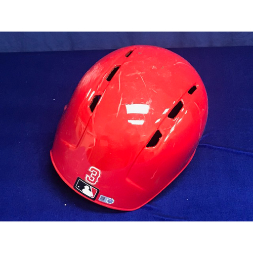 Photo of Taylor Ward Game Used 2018 Home Run Helmet