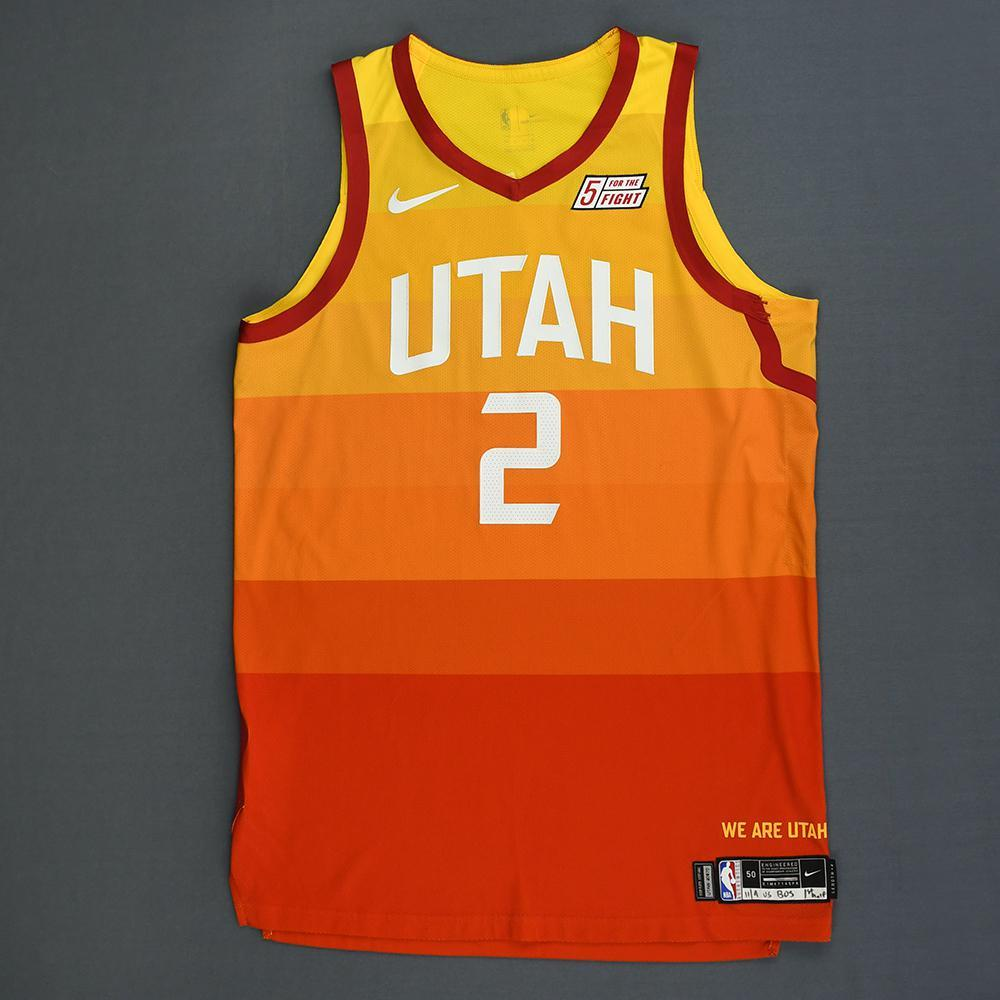 Joe Ingles - Utah Jazz - Game-Worn City Edition 1st Half Jersey - 2018-19 Season