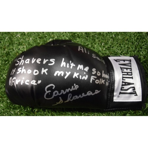 Photo of Rays Baseball Foundation Auction: Ernie Shavers Autographed Boxing Glove