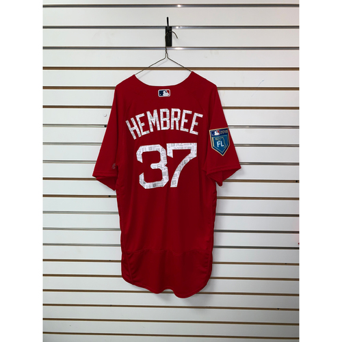 Photo of Heath Hembree Team Issued 2018 Spring Training Jersey