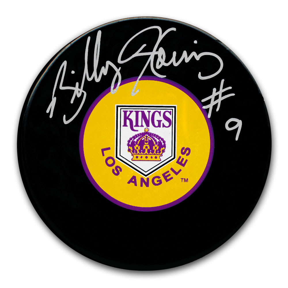 Billy Harris Los Angeles Kings Autographed Puck