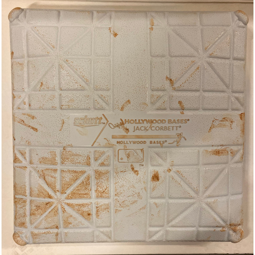 Photo of 2019 NLDS Game Used Base - Third Base Used During 2nd Inning - 10/4/19