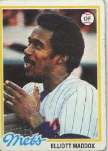 Photo of 1978 Topps #442 Elliott Maddox