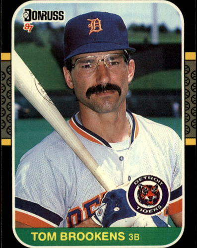Photo of 1987 Donruss #296 Tom Brookens