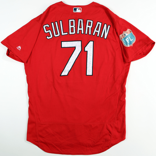 Photo of 2016 Spring Training - Spring Training Game Used Jersey - Juan Carlos Sulbaran (Cardinals)- Size- 48