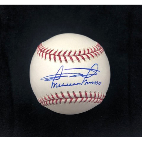 Photo of Minnie Minoso Autographed Baseball