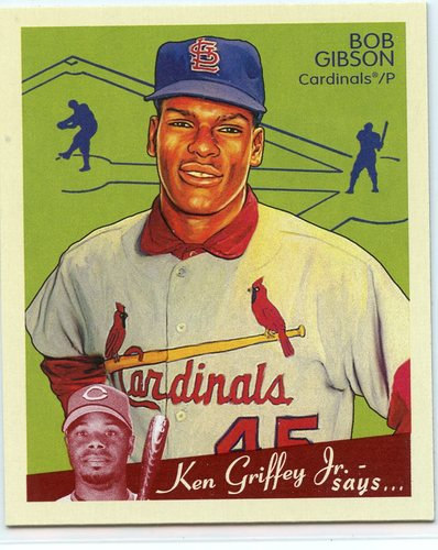 Photo of 2008 Upper Deck Goudey Mini Red Backs #228 Bob Gibson