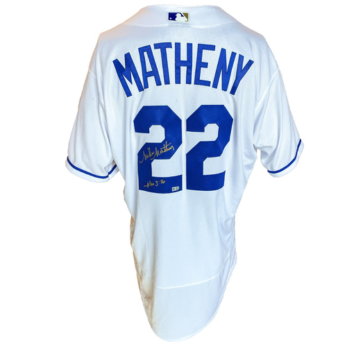 Photo of Autographed Nike Jersey: Mike Matheny