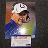 Colts - Chuck Pagano Signed 8x10