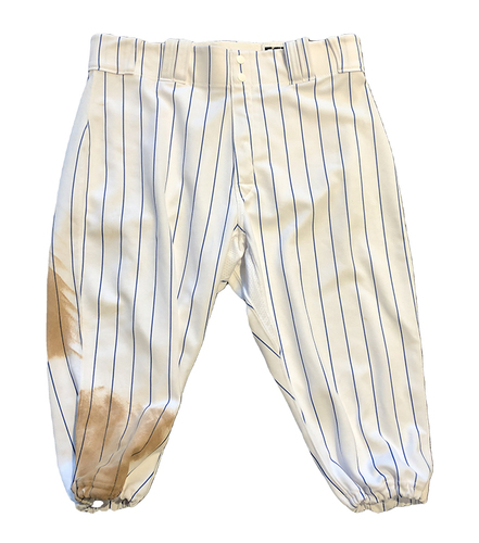 Photo of Kyle Schwarber Team-Issued Pants -- 2020 Season -- Size 36-40-17