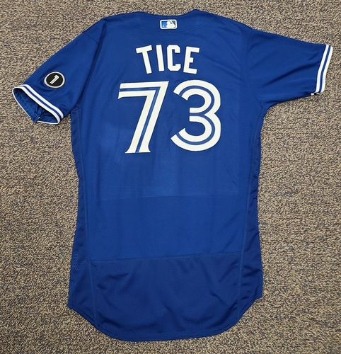 Photo of Authenticated Team Issued Jersey: #73 Ty Tice (2020 Season). No Set. Size 42.