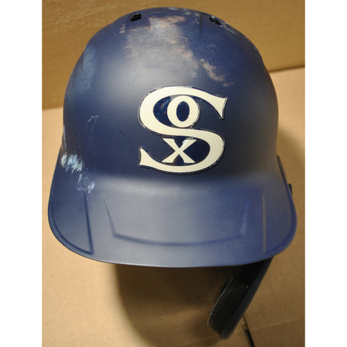 2021 New York Yankees vs. Chicago White Sox in Dyersville, Iowa - Team-Issued Batting Helmet - #10