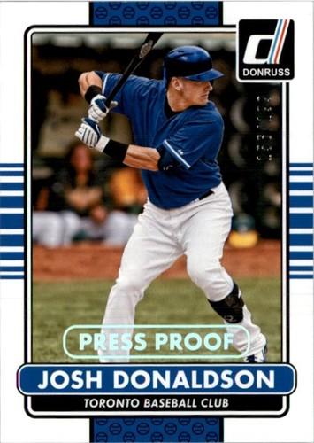 Photo of 2015 Donruss Press Proofs Silver #131 Josh Donaldson