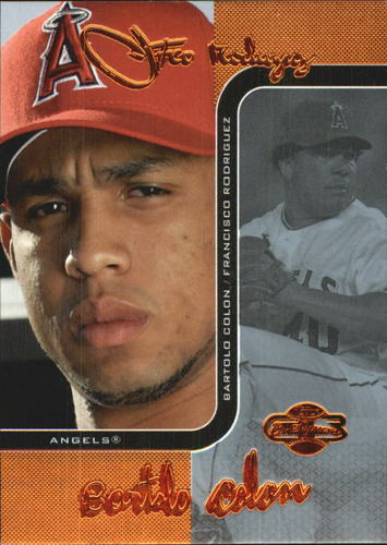 Photo of 2006 Topps Co-Signers Changing Faces Blue #34A Francisco Rodriguez/Bartolo Colon