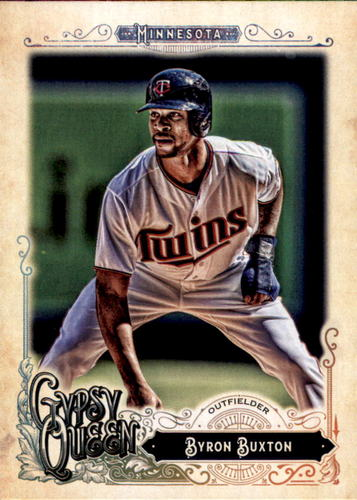 Photo of 2017 Topps Gypsy Queen #115 Byron Buxton