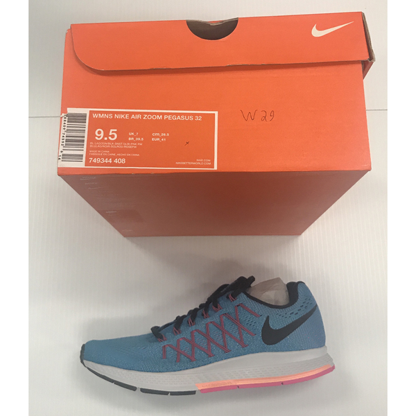 Photo of Nike Women's Shoes Size 9.5 W Pegasus 32, Color Light Blue