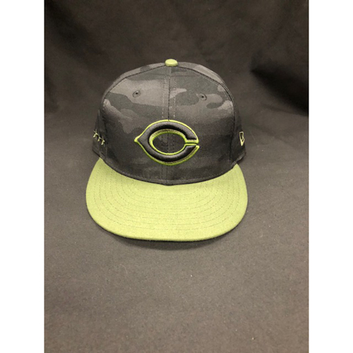 Photo of Eugenio Suarez -- Game-Used -- Memorial Day Weekend Hat (Worn: May 26-28, 2018)