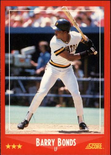Photo of 1988 Score #265 Barry Bonds