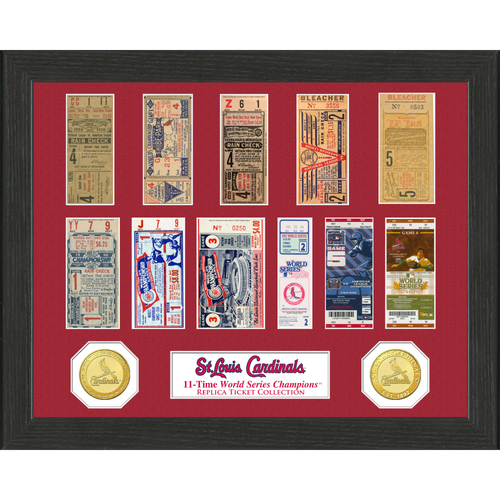 Photo of St. Louis Cardinals World Series Ticket Collection