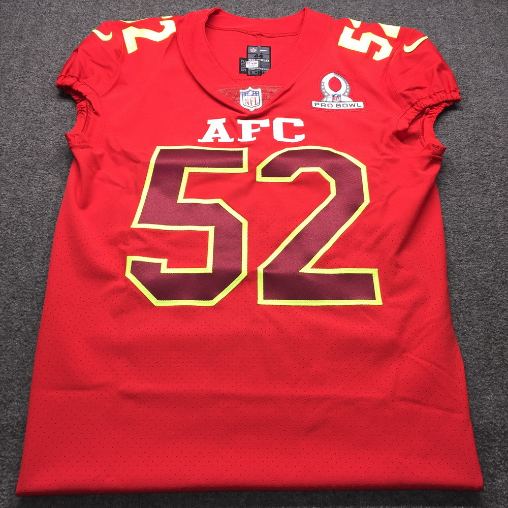 new style 7ccd5 6b1e1 NFL Auction | NFL - Raiders Kalil Mack 2017 AFC Pro Bowl ...