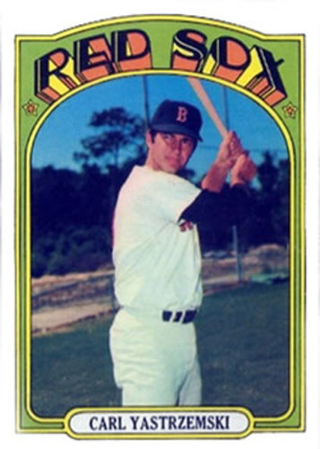 Photo of 1972 Topps #37 Carl Yastrzemski