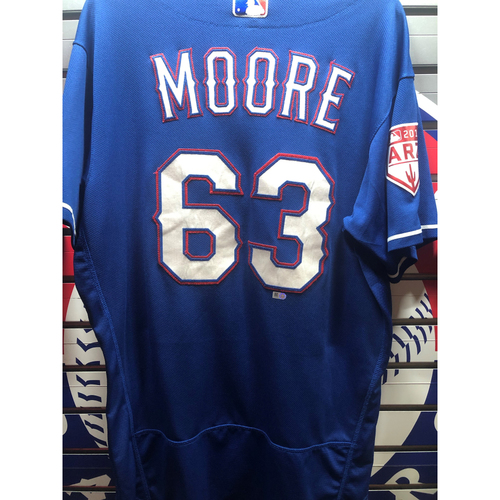 Photo of Adam Moore Team-Issued Spring Training Jersey