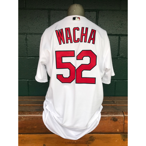 Photo of Cardinals Authentics: Game Worn Michael Wacha Cardenales Jersey