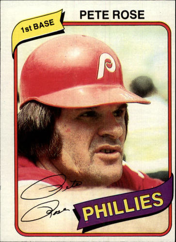 Photo of 1980 Topps #540 Pete Rose
