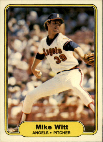 Photo of 1982 Fleer #473 Mike Witt