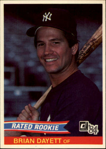 Photo of 1984 Donruss #45 Brian Dayett RC