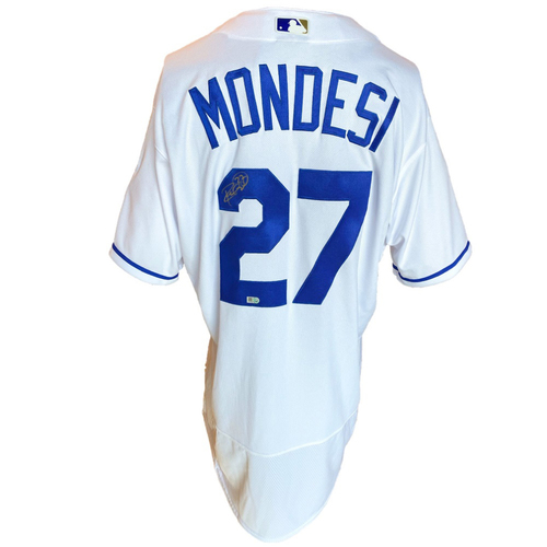 Photo of Autographed Nike Jersey: Adalberto Mondesi