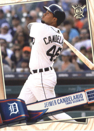 Photo of 2019 Topps Big League #276 Jeimer Candelario