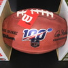 NFL - Saints Drew Brees Signed Authentic Football W/ 100 Seasons Logo