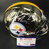 NFL - Steelers Joe Haden Signed Chrome Revolution Helmet