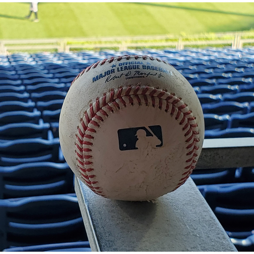 Photo of 2020 Phillies Game-Used Baseball - JT Realmuto Solo Home Run