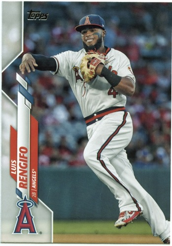 Photo of 2020 Topps #360 Luis Rengifo