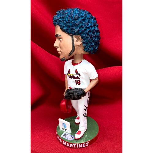 Photo of Carlos Martinez Autographed Bobblehead