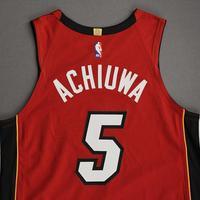 Precious Achiuwa - Miami Heat - Game-Worn - Statement Edition Jersey - Christmas Day 2020