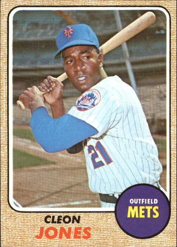 Photo of 1968 Topps #254 Cleon Jones